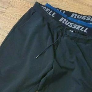 2 Russell Men Sweatpants Athletic Pants Size Xxl